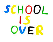 School is over Stock Photo