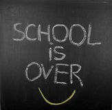School is over Royalty Free Stock Image