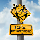 School Overcrowding Royalty Free Stock Photography