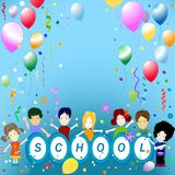 School party Royalty Free Stock Photo