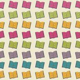 School pattern with books Royalty Free Stock Photography