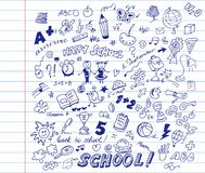 School pattern Stock Images