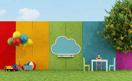 School playground for children Royalty Free Stock Image