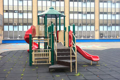 School Playground Stock Photo