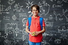At school Royalty Free Stock Images