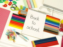 School preparation Royalty Free Stock Photo