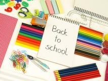 School preparation Royalty Free Stock Photo