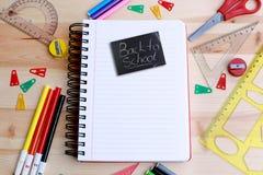 School preparation Stock Images