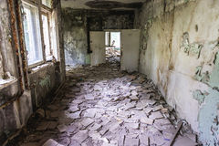 School in Pripyat Royalty Free Stock Images