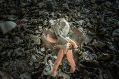 School in Pripyat Royalty Free Stock Photography
