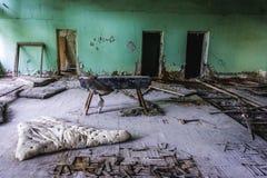 School in Pripyat Stock Photo