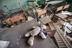 School in Pripyat Royalty Free Stock Image