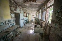 School in Pripyat Stock Photos