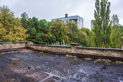 School in Pripyat Stock Photography