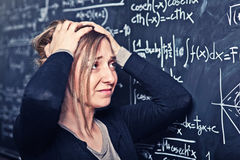 School problem Stock Image