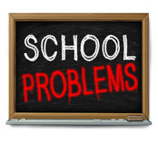 School Problems Royalty Free Stock Image