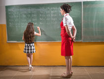The school punishment stock photos