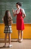 The school punishment Stock Images