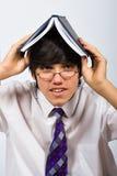 School pupil in glasses Stock Image