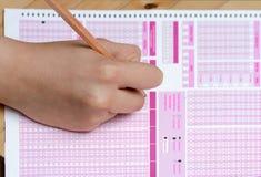 School Quiz Stock Photography