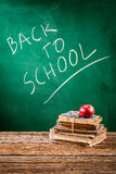 School is ready to students coming back stock image