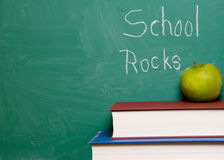 School Rocks Stock Photo