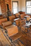 School Room - High View & Windows Royalty Free Stock Image