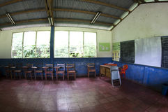 School room rural nicaragua Royalty Free Stock Photography