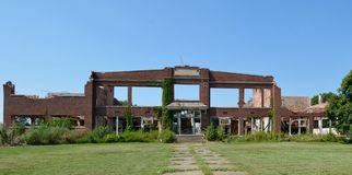 School Ruins Royalty Free Stock Photography