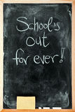 School's out stock photos