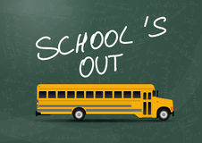 School's out Royalty Free Stock Images