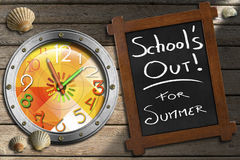 School's Out for Summer Royalty Free Stock Image
