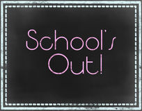 School´s out Stock Photography