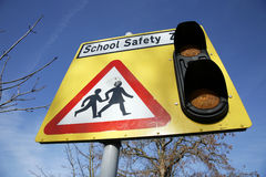 School Safety Zone Royalty Free Stock Image