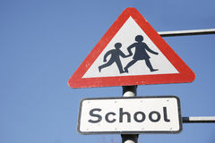 School Safety Zone Royalty Free Stock Photos