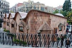 School of the Sagrada Familia Stock Photos