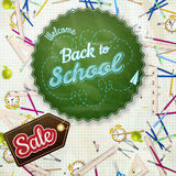 School Sale Design. EPS 10 Stock Images