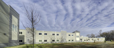 School in Savannah Royalty Free Stock Image