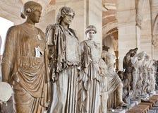 School of sculptors, restoration of sculptures, workshop repair depot Stock Photography