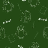 School  seamless Royalty Free Stock Images