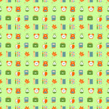 School seamless pattern Royalty Free Stock Image