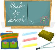 School set 02 Royalty Free Stock Photography