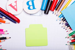 School set Royalty Free Stock Images