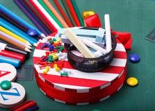 School set Stock Image