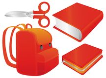 School set two Royalty Free Stock Photography