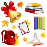 School set Stock Images