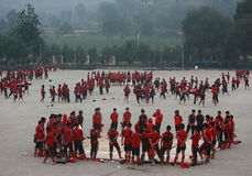 School of Shaolin Temple Stock Photography