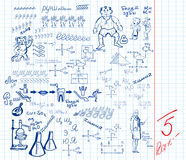 School sheet Royalty Free Stock Image