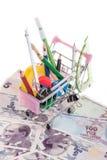 School shopping Stock Image