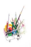 School shopping Royalty Free Stock Photo
